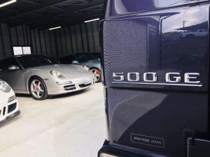 メルセデスベンツ Gクラス 500GE